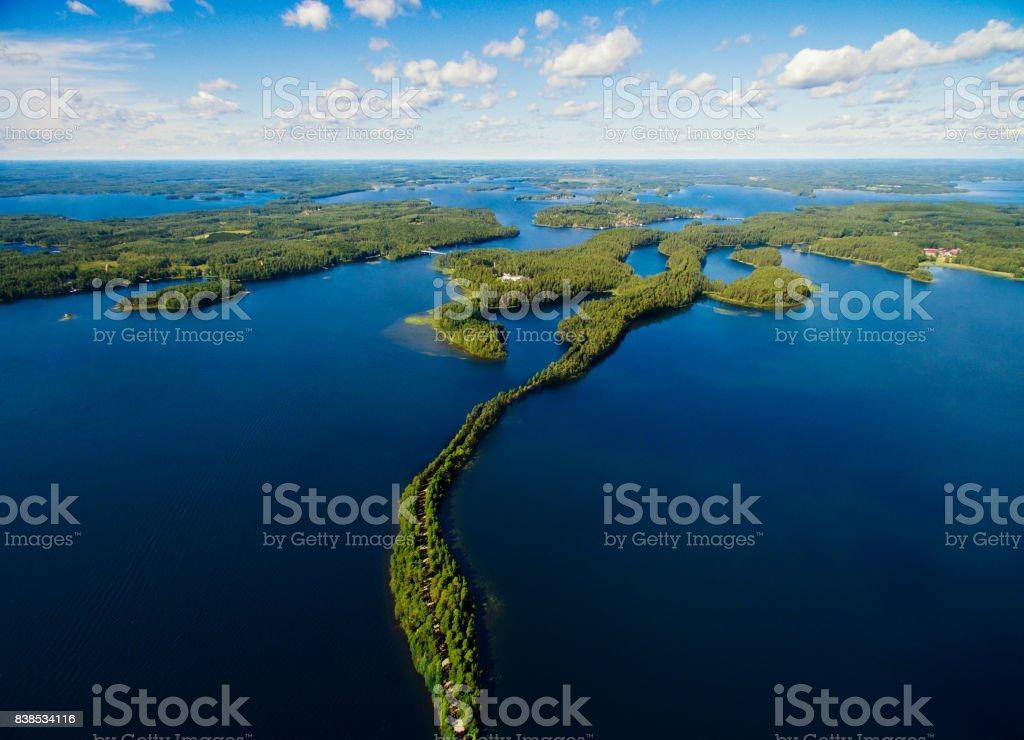 Nationalen Landschaft Punkaharju – Foto