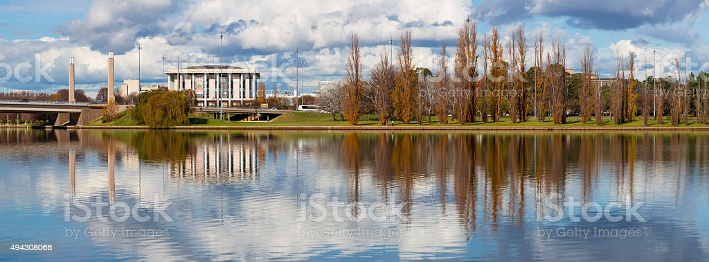 National Library, Canberra stock photo