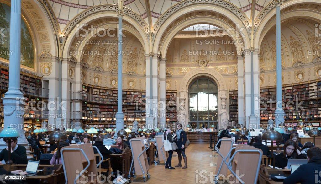 Bibliothèque nationale de France, Paris, site Richelieu - Photo