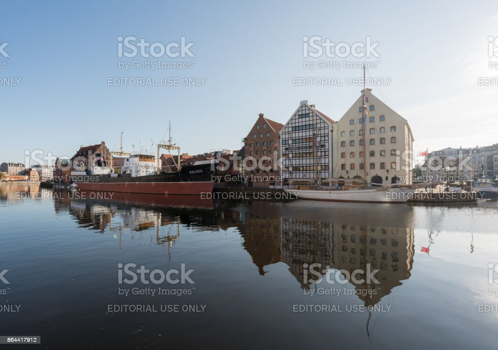 National Maritime Museum in Gdansk Poland stock photo