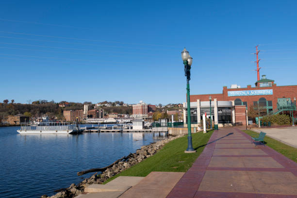 National Mississippi River Museum & Aquarium in Dubuque, Iowa – Foto