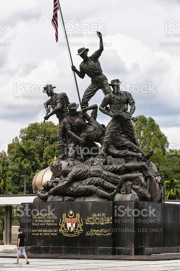 National Monument Cenotaph stock photo