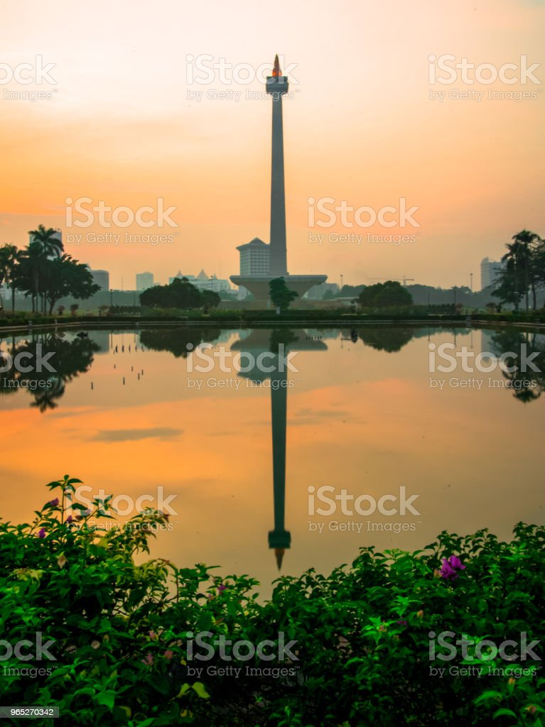 National Monument of Jakarta zbiór zdjęć royalty-free