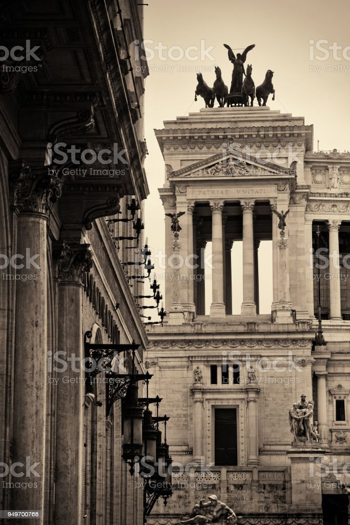 National Monument to Victor Emmanuel II or II Vittoriano in Piazza...