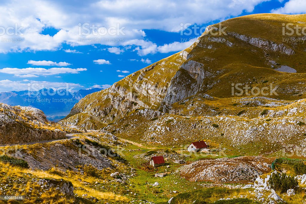 National mountains park Durmitor - Montenegro foto de stock royalty-free