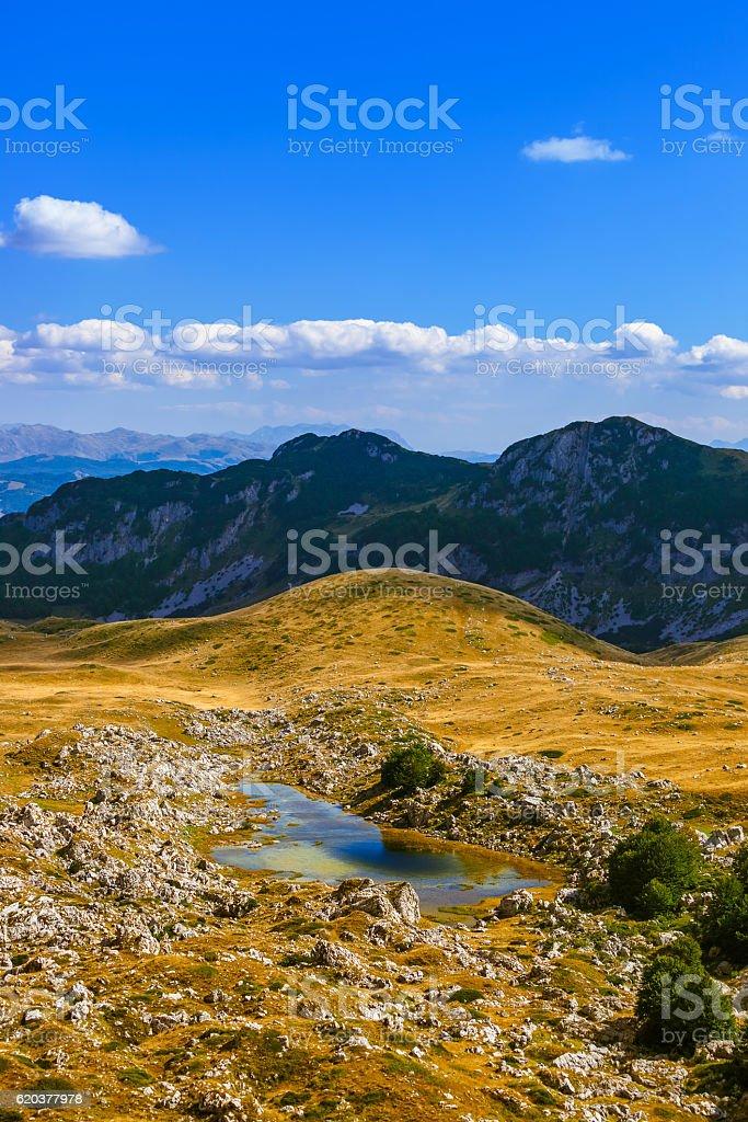 National mountains park Durmitor - Montenegro zbiór zdjęć royalty-free