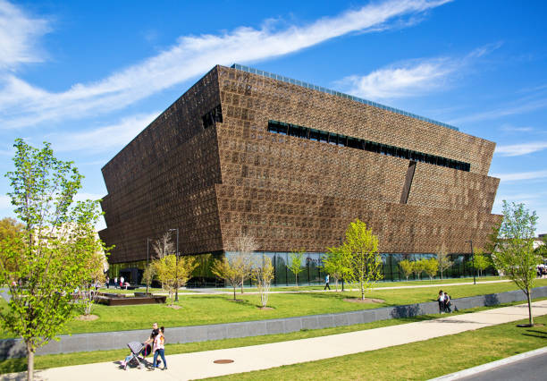 National Museum of African American History and Culture Building in Washington DC, USA - foto stock
