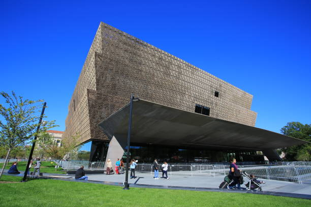 National Museum of African American History and Culture stock photo