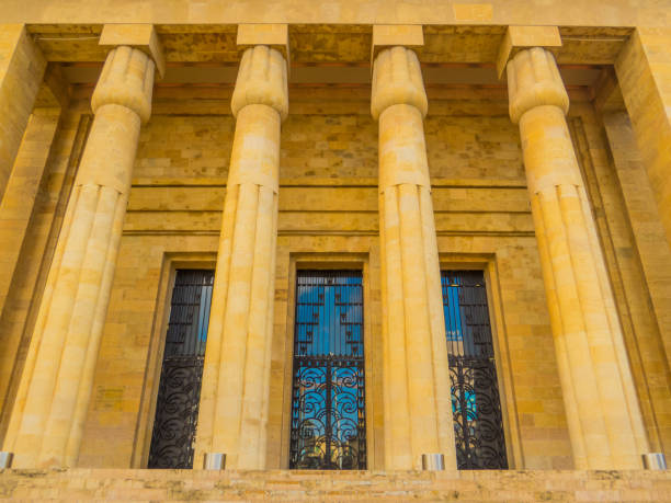 National Museum of Beirut, Lebanon stock photo