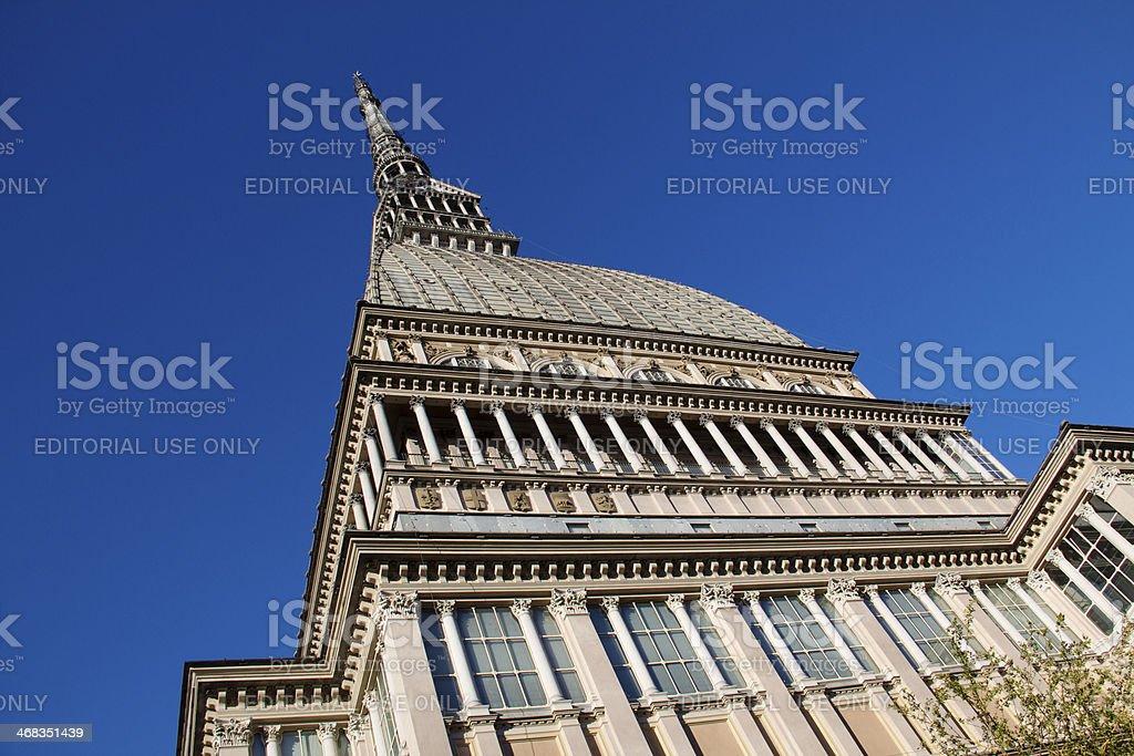 National Museum of Cinema in Torino royalty-free stock photo