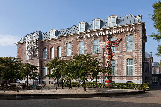 National Museum of Ethnology in Leiden Leiden, Netherlands - September 16, 2014: National Museum of Ethnology leiden stock pictures, royalty-free photos & images