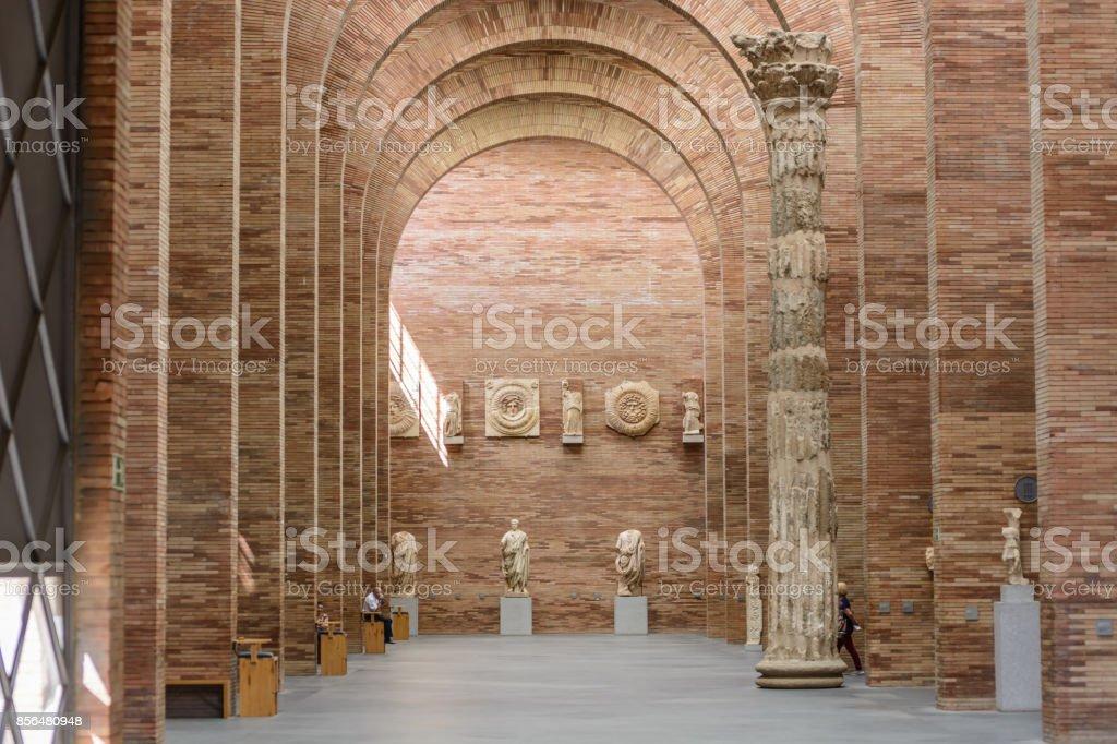 National Museum of Roman Art stock photo