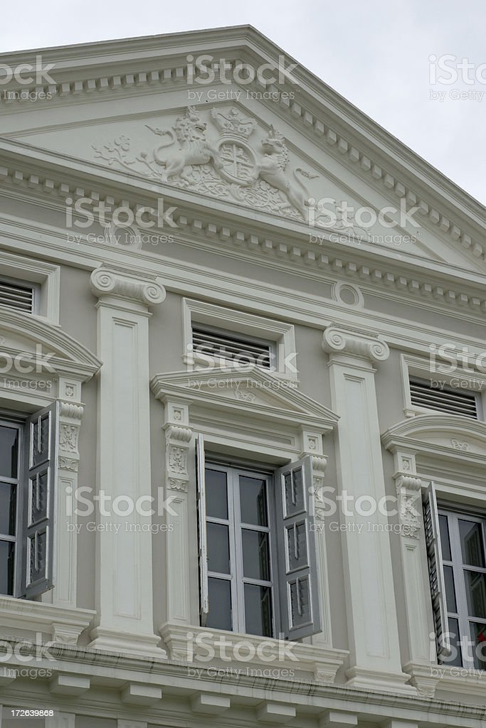 National Museum of Singapore royalty-free stock photo