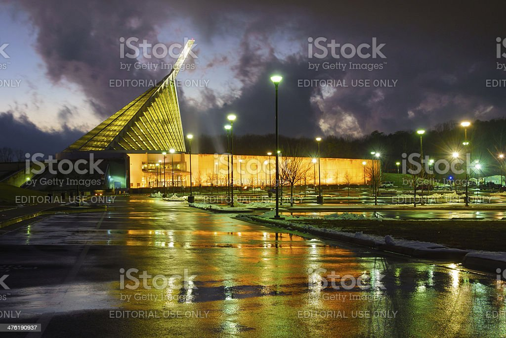 National Museum of the Marine Corps, Virginia, USA royalty-free stock photo