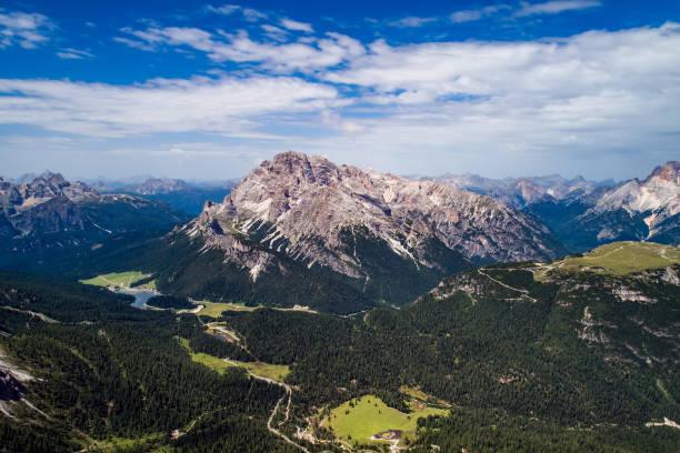 Nationalpark Natur Tre Cime In den Dolomiten Alpen. Schöne Natur Italiens. – Foto
