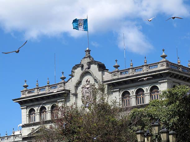 national palace guatemala - guatemala stadt stock-fotos und bilder