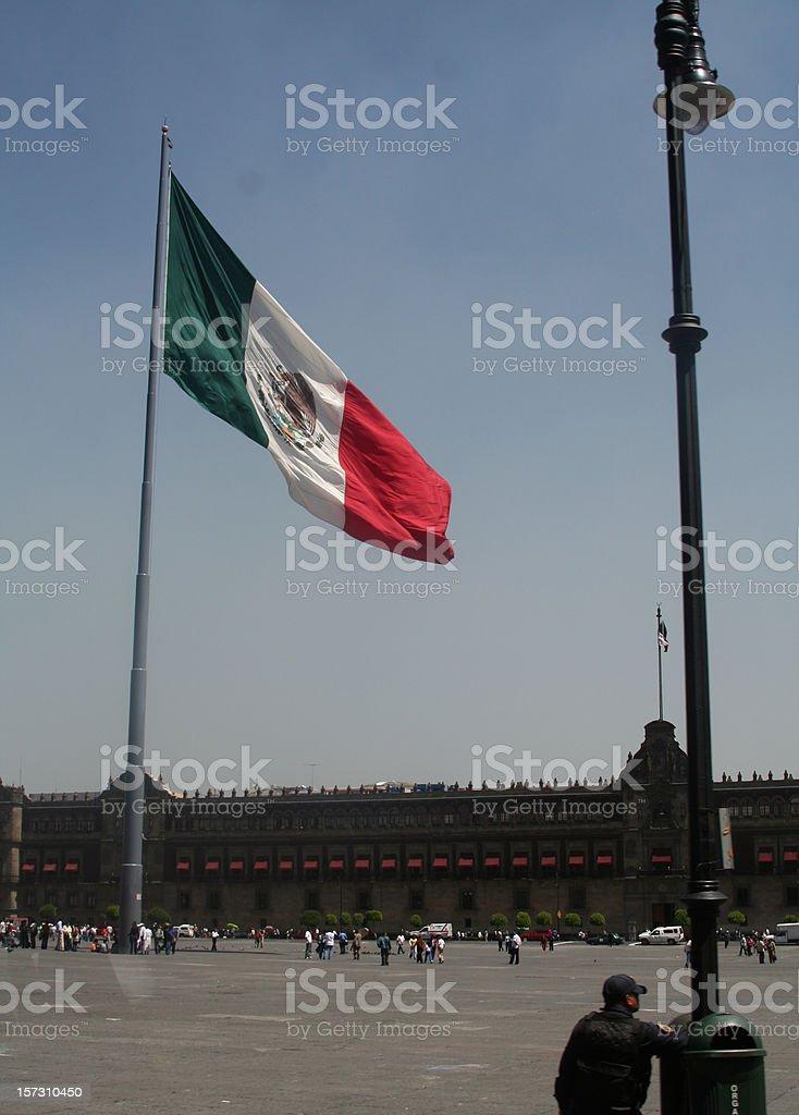Palacio nacional mexico stock photo