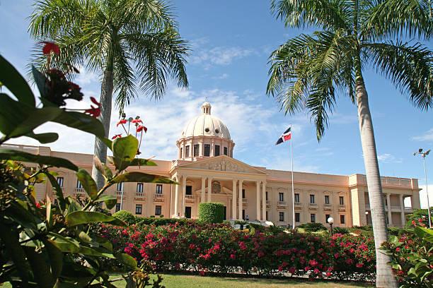 National Palace, Santo Domingo stock photo