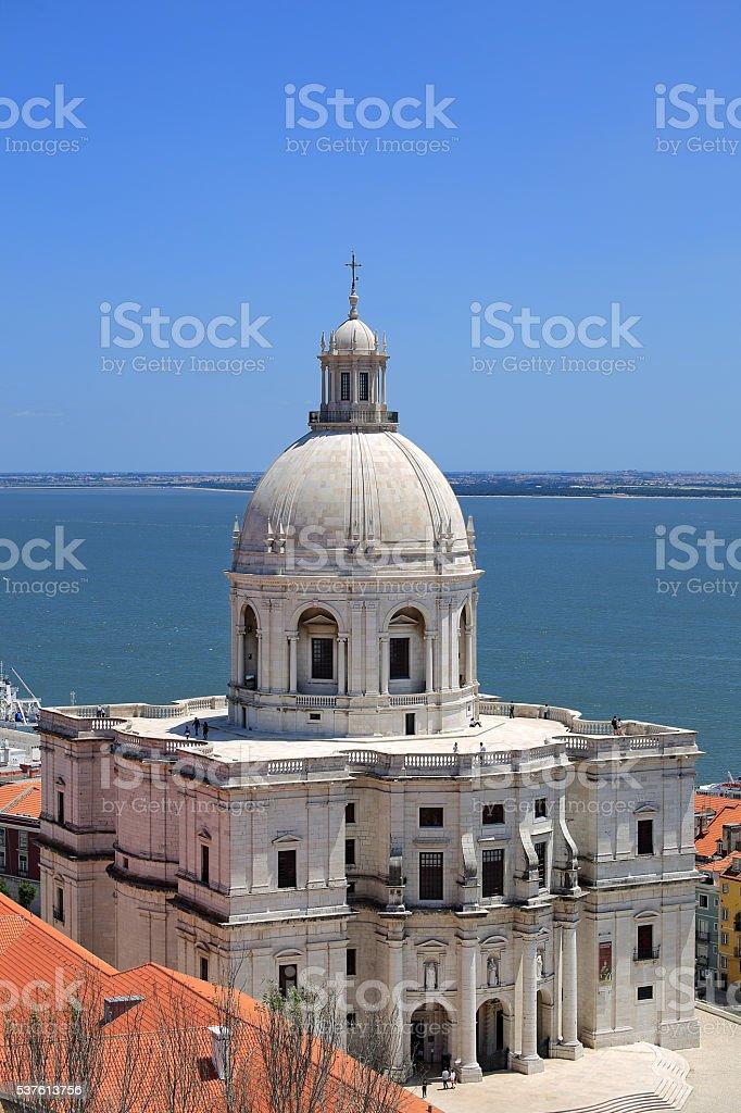 National Pantheon in Lisbon stock photo