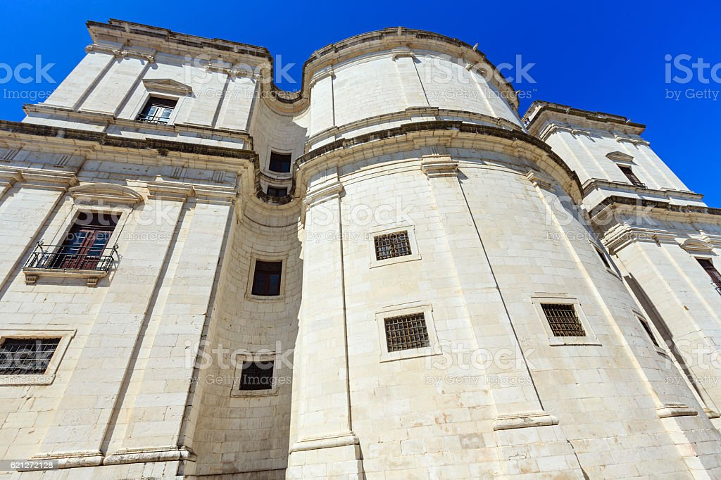 National Pantheon in Lisbon, Portugal. stock photo