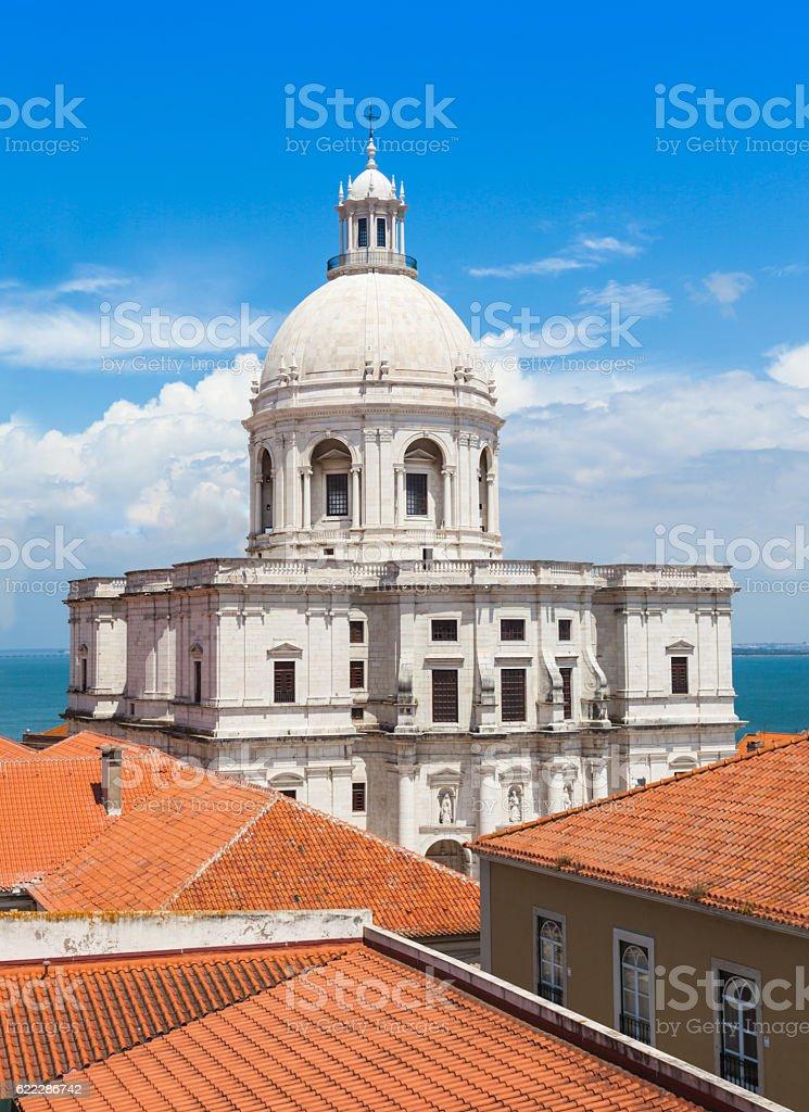 National Pantheon, Lisbon stock photo
