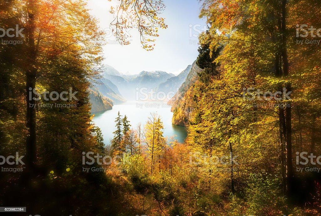 National Park Berchtesgaden stock photo