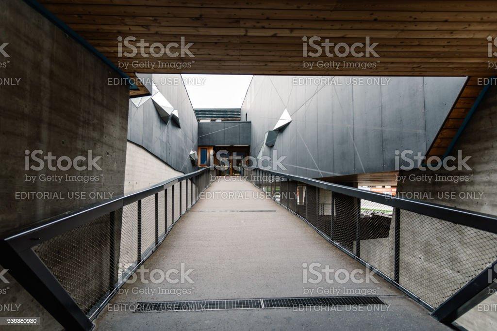 National park center Hohe Tauern stock photo
