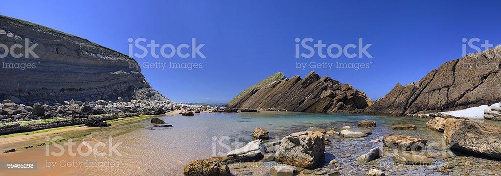 National Park Dunas de Liencres stock photo