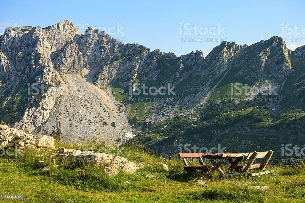 National park Durmitor, Montenegro stock photo