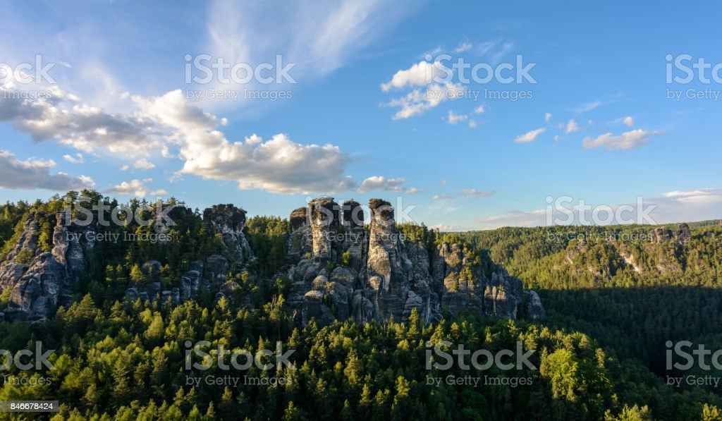 National Park in Germany stock photo
