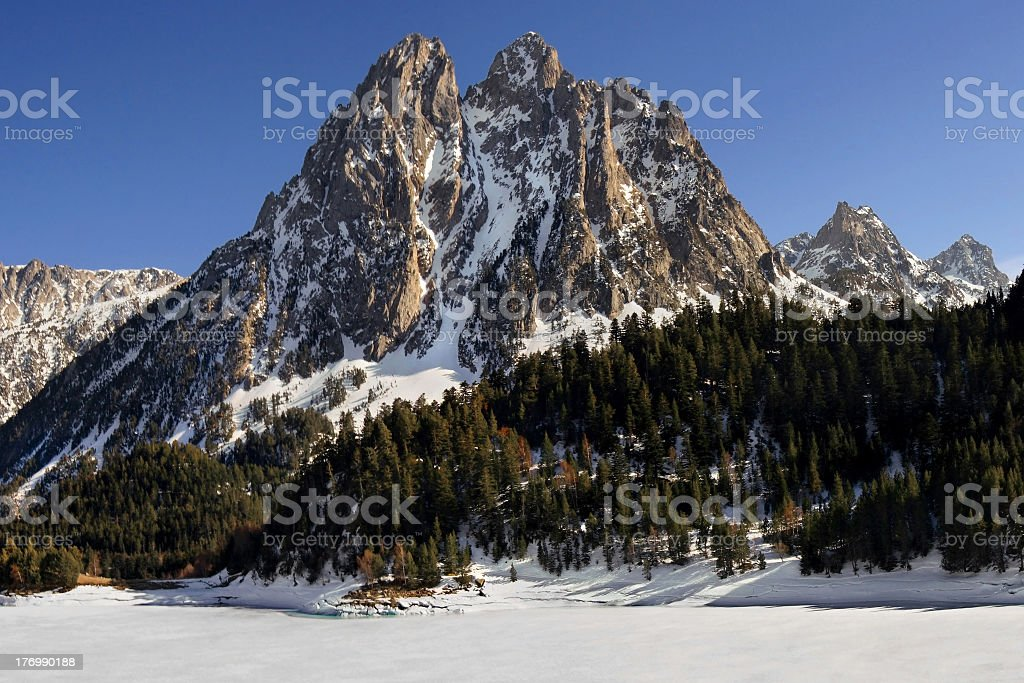 National Park of Aiguestortes stock photo