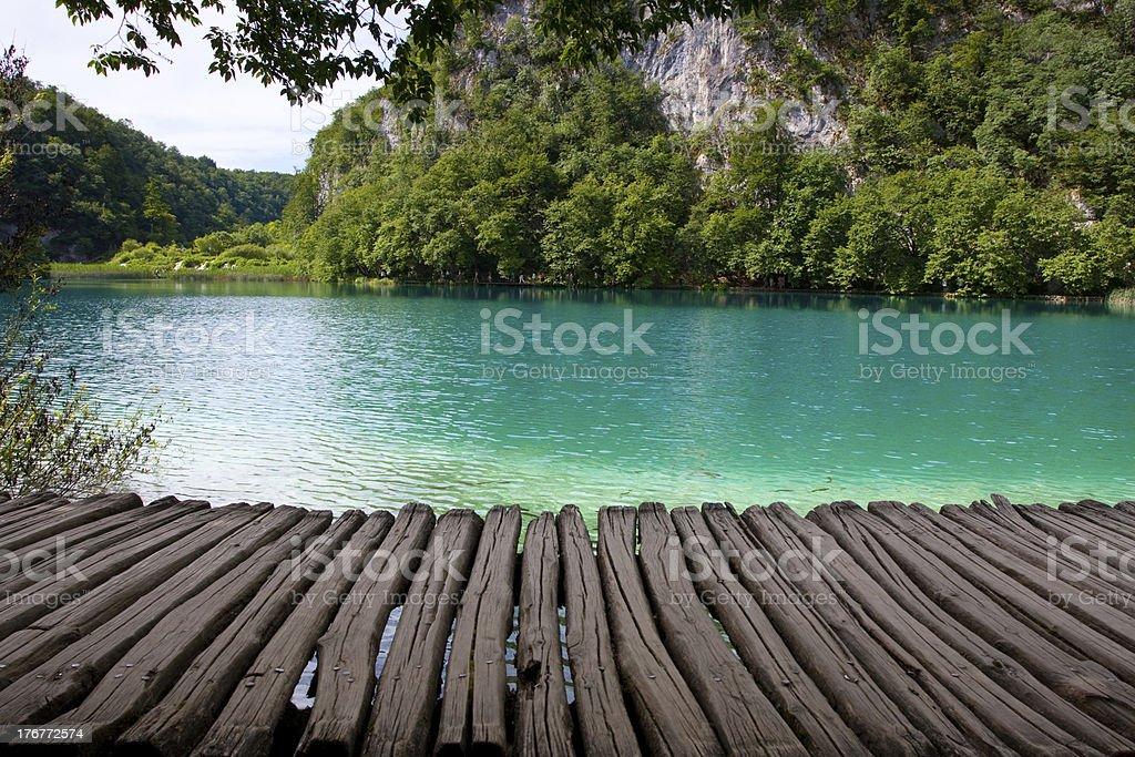 National Park Plitvice royalty-free stock photo
