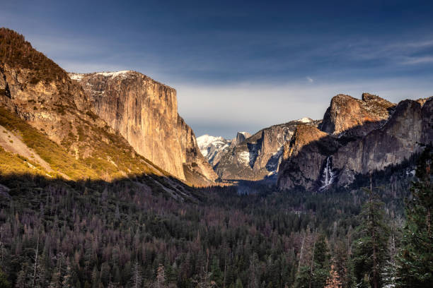 usa national parks - granite rock stock photos and pictures