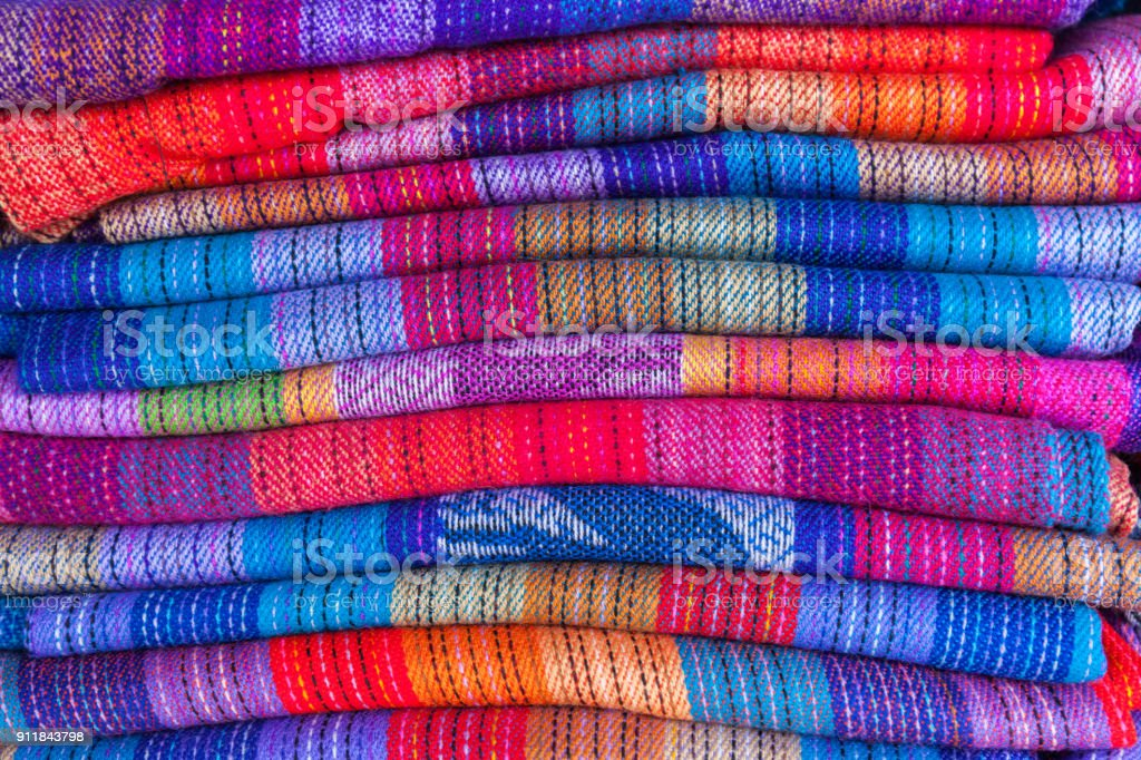 national patterns of Bolivia stock photo