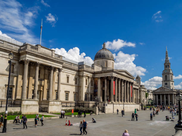 National Portrait Gallery, London - foto stock