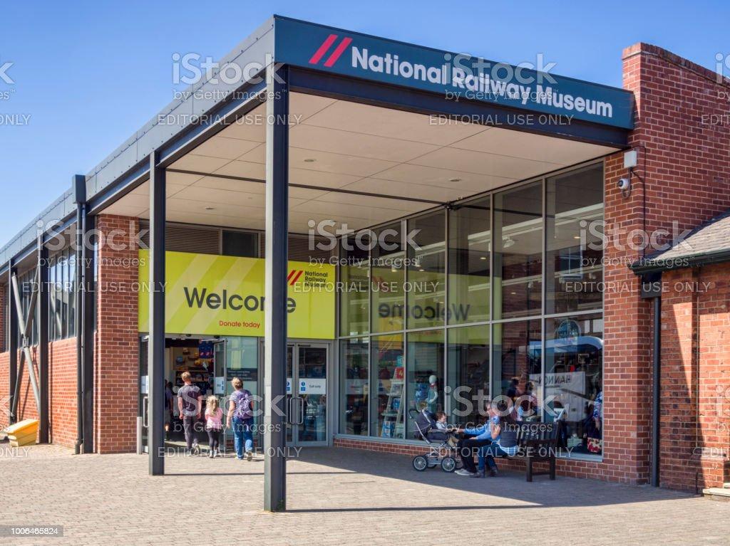 National Railway Museum York stock photo