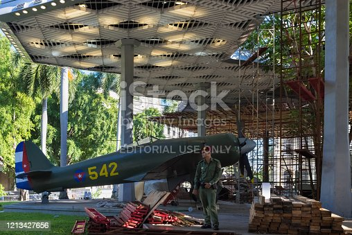 istock National revolution museum in Havana Cuba - Serie Cuba Reportage 1213427656