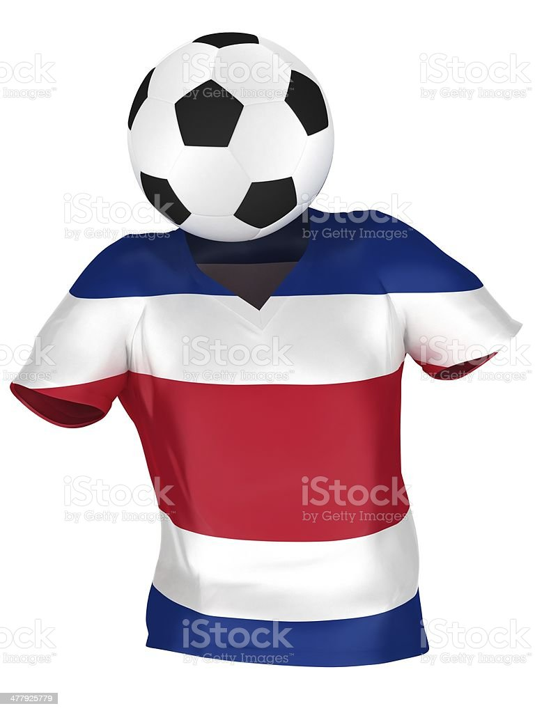 National Soccer Team Of Costa Rica Stock Photo   More Pictures of ... d0695647a