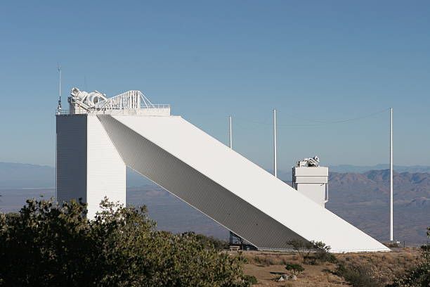 solar-observatorium im kitt-peak nahe tucson, arizona - hohe warte stock-fotos und bilder