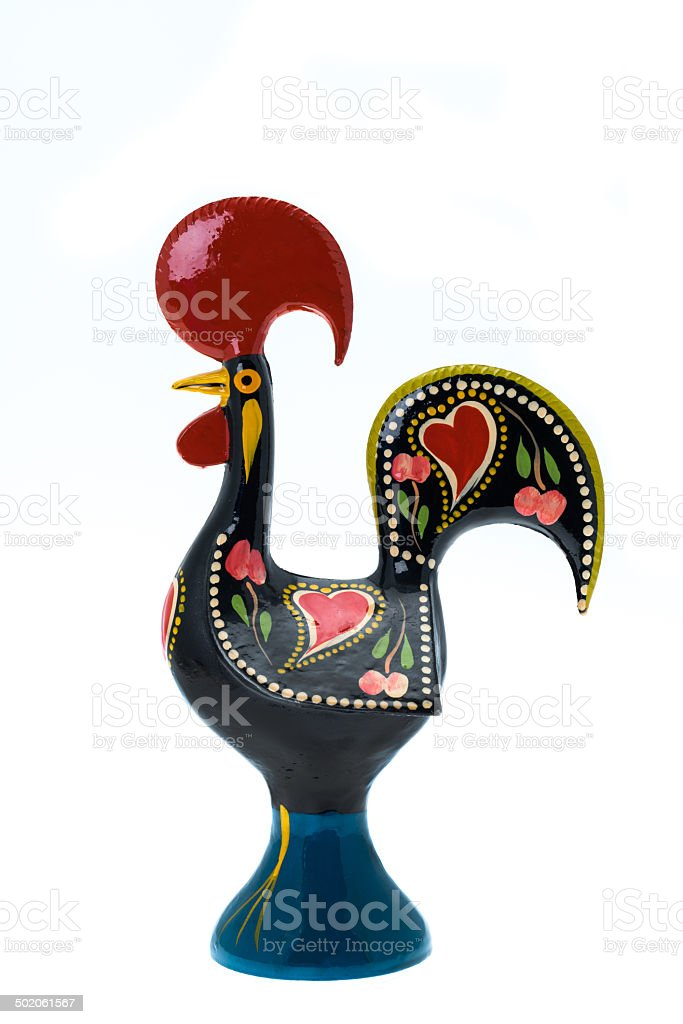 National Symbol Of Portugal Barcelos Rooster Stock Photo More