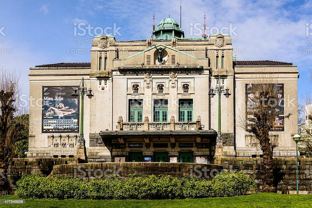 Teatro Nacional Bergen Noruega Foto De Stock Y Más Banco De
