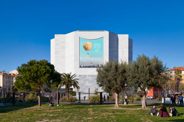 National Theater of Nice stock photo