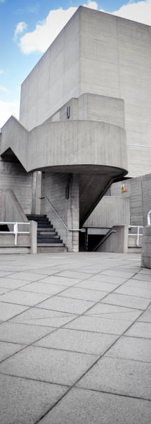 national theatre in london stock photo