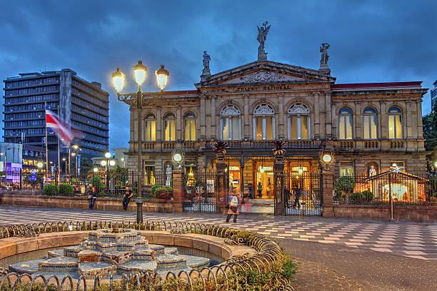 National Theatre in San José, Costa Rica – Foto