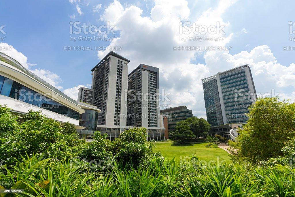 National University of Singapore (NUS) stock photo