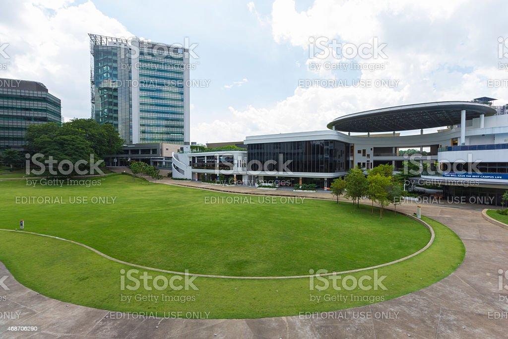 国立大学(NUS)シンガポール - 2015年のロイヤリティフリーストックフォト