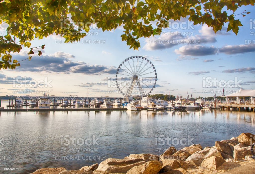 National Waterfront stock photo