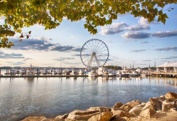 National Waterfront stock photo
