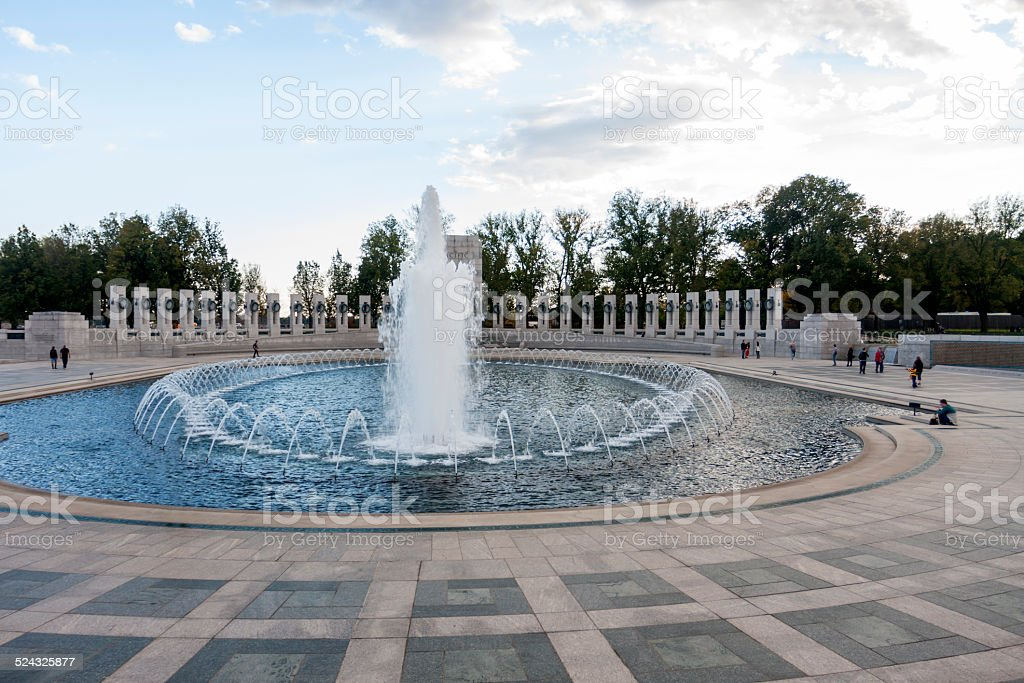 National World War II Memorial stock photo