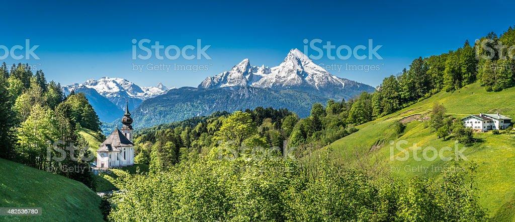 Nationalpark Berchtesgadener Land, Bavaria, Germany stock photo